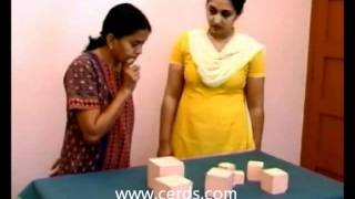 Montessori Activities - Pink Tower - CERDS