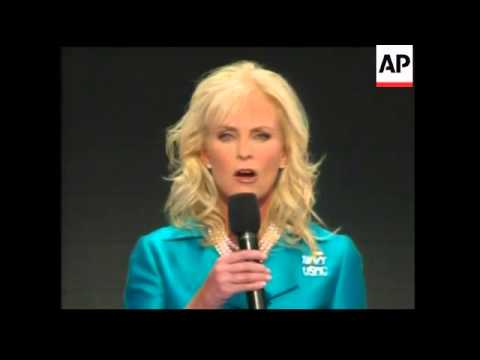 Sample video for Cindy McCain