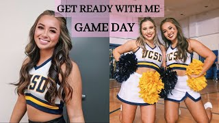 COLLEGE CHEER GRWM: SPRIT NIGHT GAME DAY! | Alyssa Revecho