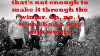A Way With Words Lyrics-Action Item