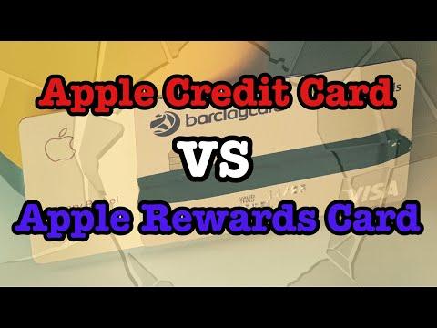 Apple Rewards Card VS Apple Credit Card