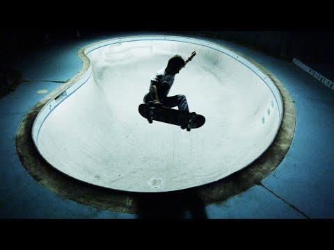Pool Skateboarding Session in 4K with Zach Miller