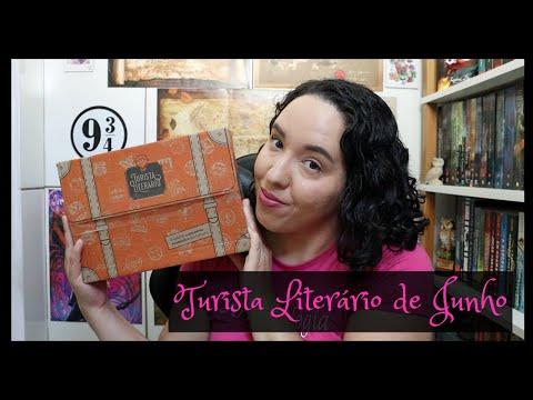 Unboxing Turista Literário de Junho (2021)   Raíssa Baldoni