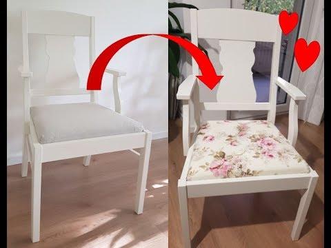 *DIY* Stuhlkissen inkl. Schnittmuster nähen- IKEA Ingatorp