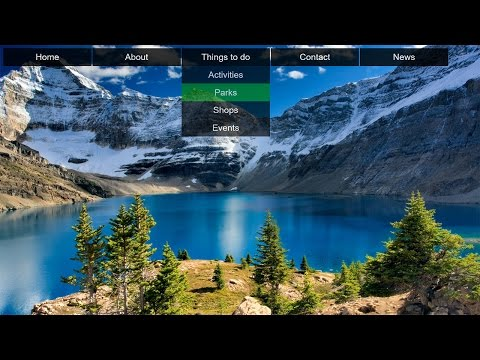 Download How to Create Transparent Drop Down Navigation Menu with CSS and HTML HD Mp4 3GP Video and MP3