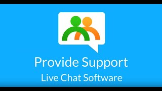 Provide Support Live Chat video