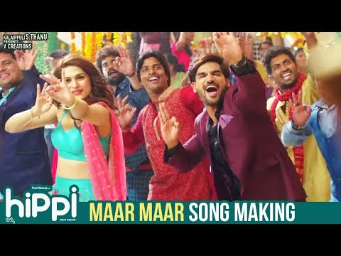Actor Karthikeya Movie Hippi Maar Maar Song Making Video
