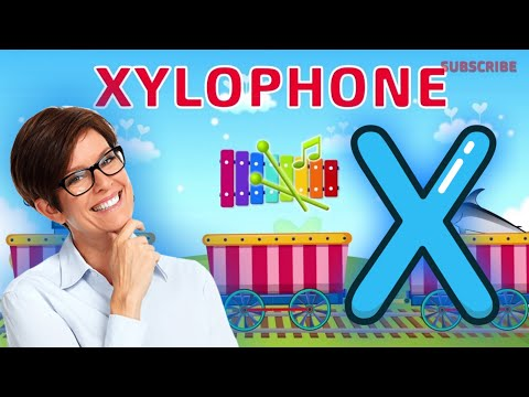 Words starting with X, x - Learn English for kids ( Letter X ) #letterX