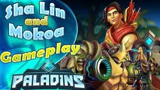 Sha Lin and Plushie Makoa - Siege - Paladins