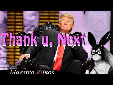 Ariana Grande - Thank u, next (cover by Donald Trump ) (видео)