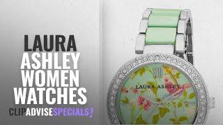 10 Best Selling Laura Ashley Women Watches [2018 ]: Laura Ashley Womens Watch LA31007BL