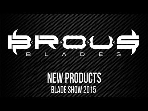 "Brous Blades Vendetta Flipper Liner Lock Knife Black G-10 (4"" Satin)"