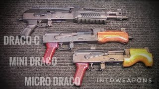 Draco AK Pistols  Dracoc Mini And Micro