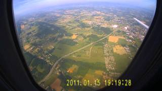 Tri cities tn airport take off
