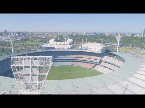 Programmed Repaints the MCG and wins the 2017 Master Painters Award