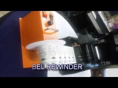 Automatic Label Rewinder for 4