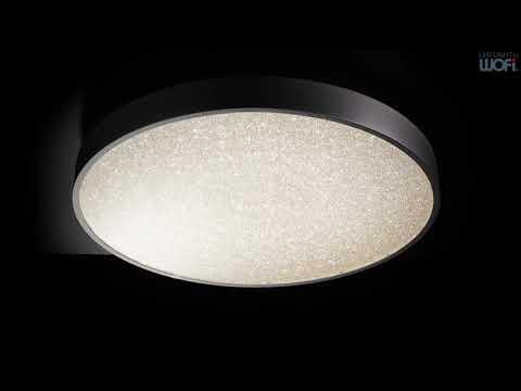 WOFI LEUCHTEN LED-Deckenleuchte Glam