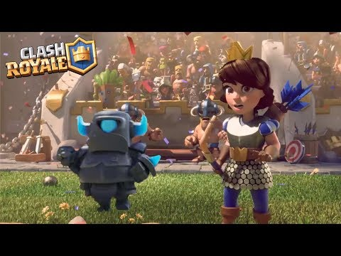 """Download Clash Royale Movie 2019 - """"The Guardian Mini Pekka"""" [Full HD] 