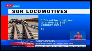 KTN Prime: Six of fifty six diesel locomotives are expected to arrive by January