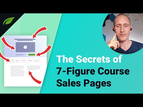 The Perfect Sales Page for Your Online Course - YouTube