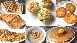 7 days 7 breakfast recipes | 7 English breakfast recipes