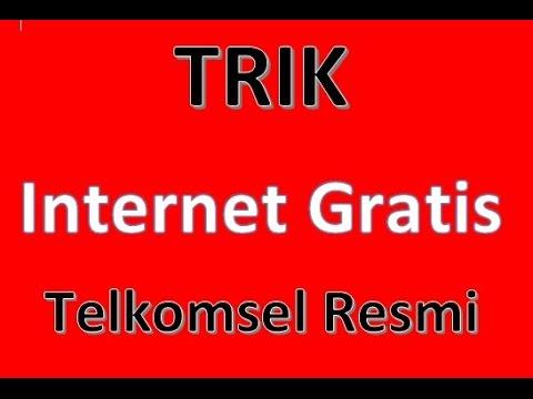 Video Cara internet gratis telkomsel RESMI..!!