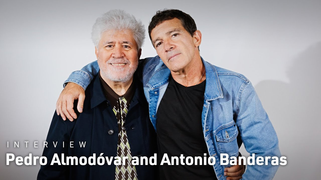 """Video trailer för Pedro Almodóvar and Antonio Banderas on Getting Personal with """"Pain and Glory"""""""