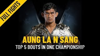 ONE: Full Fights | Aung La N Sang's Top 5 Bouts