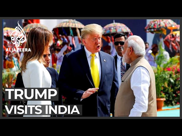 'America loves India': Trump and Modi hail India-US ties