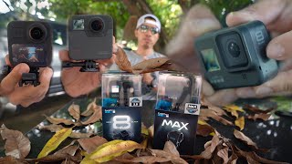 អារម្មណ៍ពេលបេីកកូនៗ GoPro Hero8 - GoPro MAX / Unboxing and Pairing