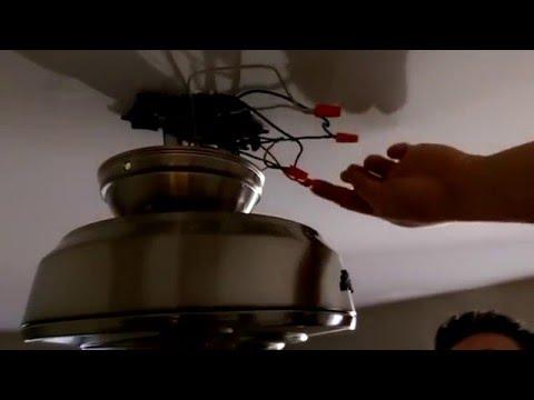Como instalar un ventilador de cielorraso