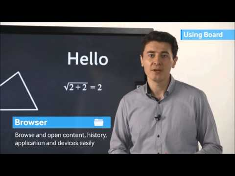 Samsung MagicIWB I2 How To Video