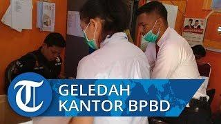 Soal Bantuan Bencana Tahun 2018, Tipikor Reskrim Polres Pangkep Geledah Kantor BPBD