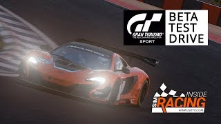 Gran Turismo Sport Demo Test Drive with Thrustmaster T-GT