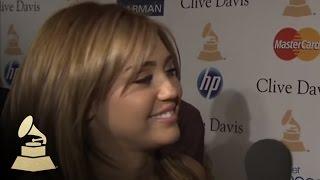 Interview The Grammys - Pré-Grammy Gala 2011 - 12/02/11