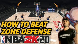 How to score on Zone Defense in NBA 2k20 (2-3 and 3-2 zone)