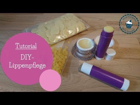 selbstgemachte Lippenpflege aus 3 natürlichen Zutaten | DIY Lip balm | DIY Anleitung | mommymade
