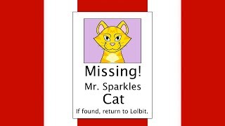 Minecraft Fnaf: Lolbits Cat Goes Missing (Minecraft Roleplay)