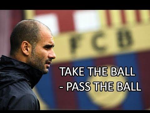 FC Barcelona ● Take The Ball - Pass The Ball ● Pep Guardiola System   HD  