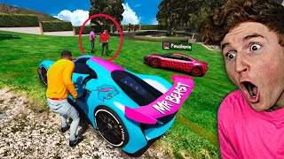 Stealing YOUTUBERS SUPERCARS  In GTA 5.. (Mods)