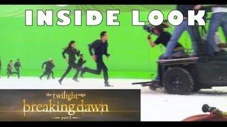 """Сумерки-Twilight, """"Рассвет - часть 2"""": Как снимали сцену сражения"""