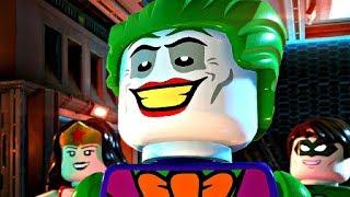 LEGO DC SUPER VILLAINS - All Joker Cutscenes