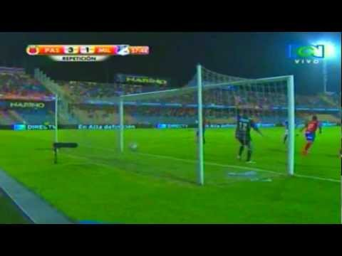 Deportivo Pasto vs Millonarios (3-1) Fecha 16 Liga Postobon 2012-II