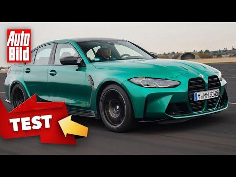 BMW M3 (2021) |So geht der neue BMW M3 ab |Test mit Alexander Bernt