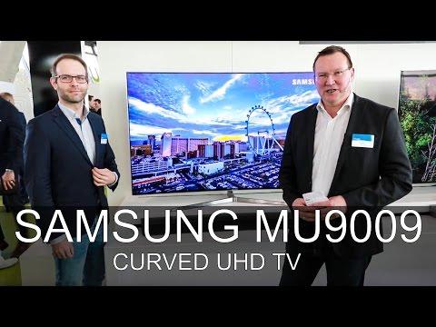 Samsung UE65MU9009 - Messe 2017 - Thomas Electronic Online Shop - UE55MU9009 - MU9009