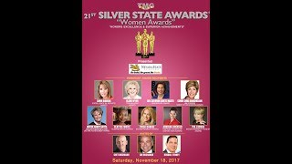 21st SILVER STATE WOMEN AWARDS RECIPIENTS ANNOUNCED IN STAR-STUDDED AWARD CEREMONY AT CAESARS PALACE