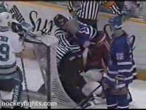 Marty McSorley vs. Mark Messier