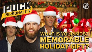 Favorite Christmas Gift Growing Up | Puck Personality | NHL