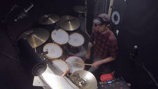 """EVITA"" AND THE MONEY KEPT ROLLING IN (GoPro ""Drum Cam"" in HD)"
