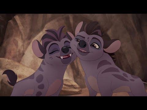 Lion Guard: Kwetu Ni Kwetu (Home is Home) song | The Hyena Resistance HD Clip